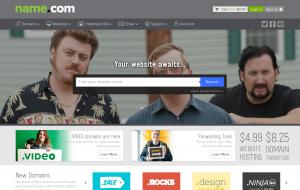 Name.com, a great domain company.
