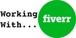 Fiverr Corporate Logo with Caption for Article